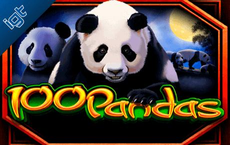 100 Pandas Kolikkopelit