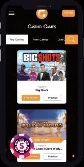 Casino.com Mobile