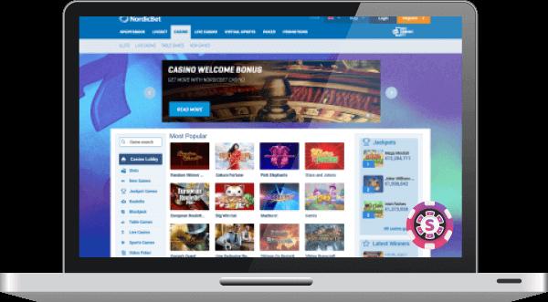 NordicBet Casino Pelit