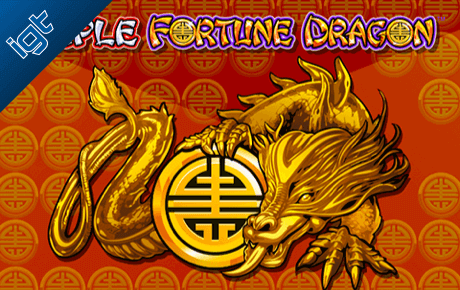Triple Fortune Dragon Kolikkopelit